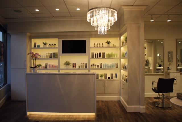 modern aveda hair salon